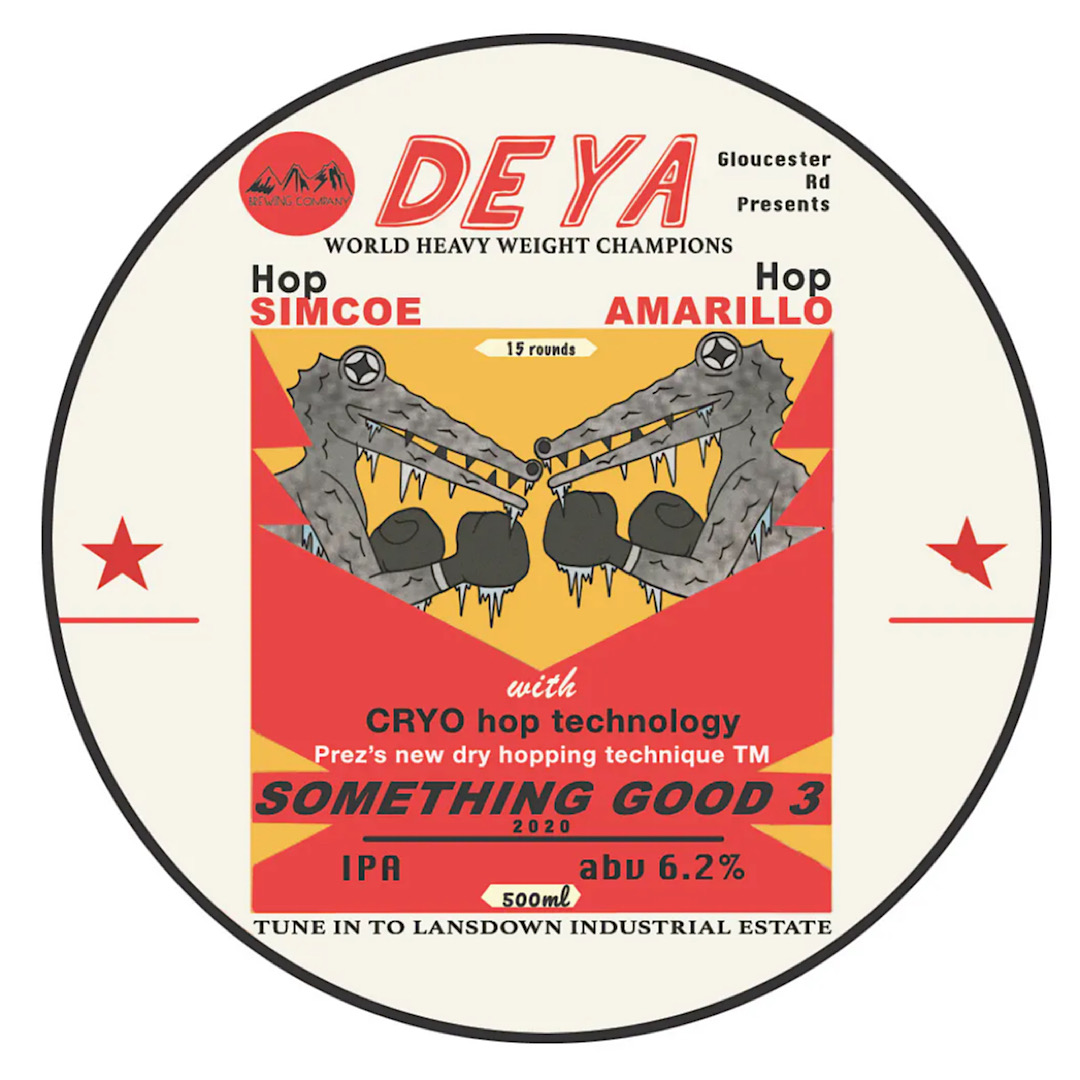 Something Good 3 - IPA 6.2% 500ml Deya Brewing