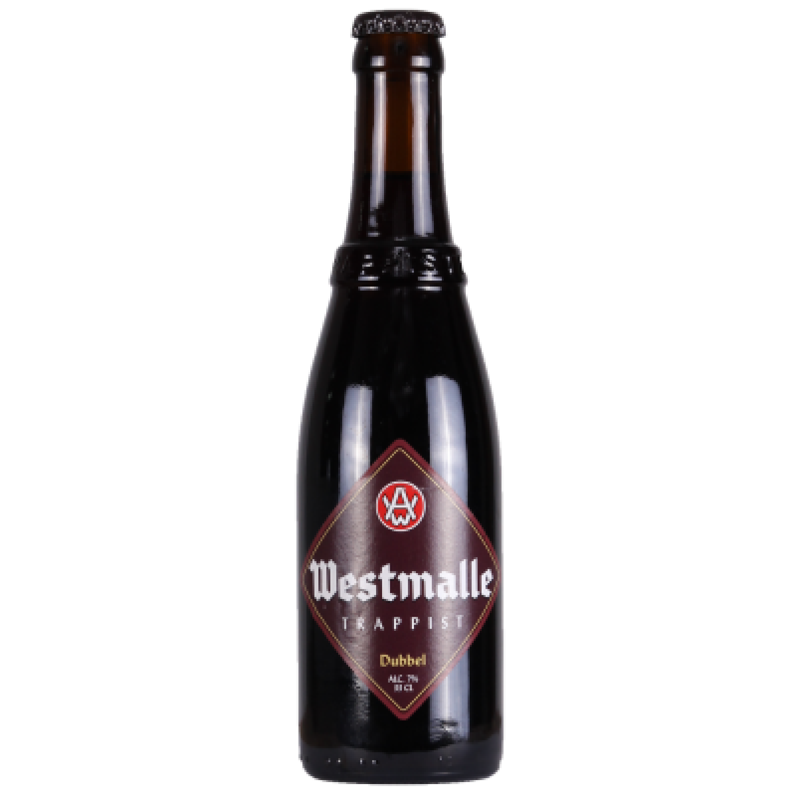 Westmalle Dubbel 7% 330ml Trappist Beer
