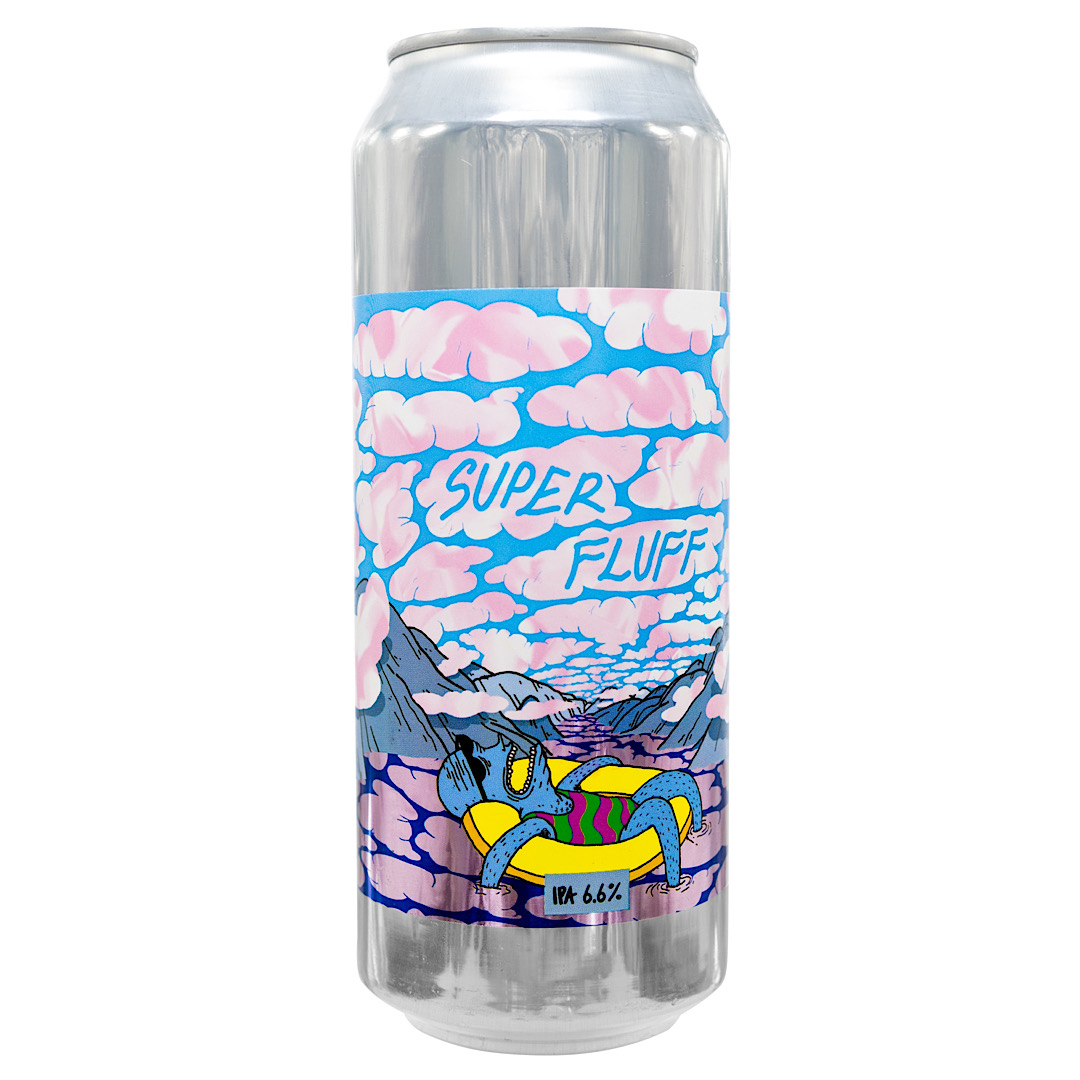 Super Fluff - IPA 6.6% 500ml Mosaic, Enigma, Cryo Loral and HBC431 hops Lervig Brewery