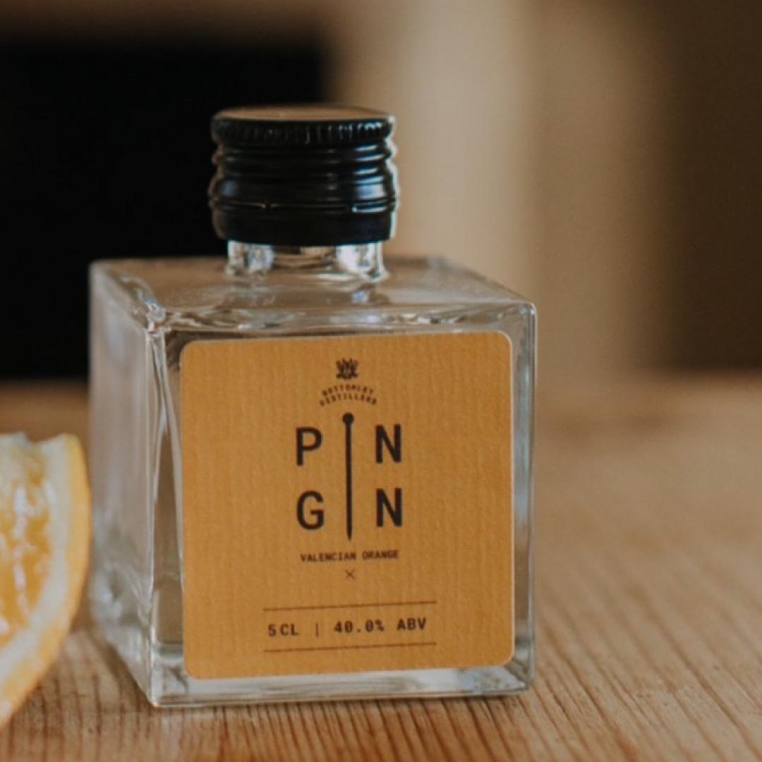 Valencian Orange - Pin Gin 50ml (miniature)