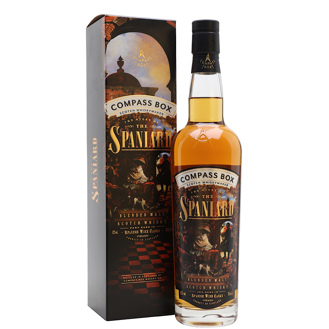 The Story of the Spaniard - Blended Malt Scotch Whisky 43% 700ml Compass Box