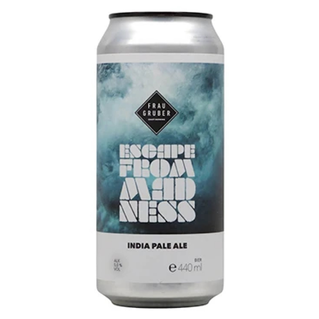 Escape from Madness - IPA 5% 440ml Frau Gruber Craft Brewing