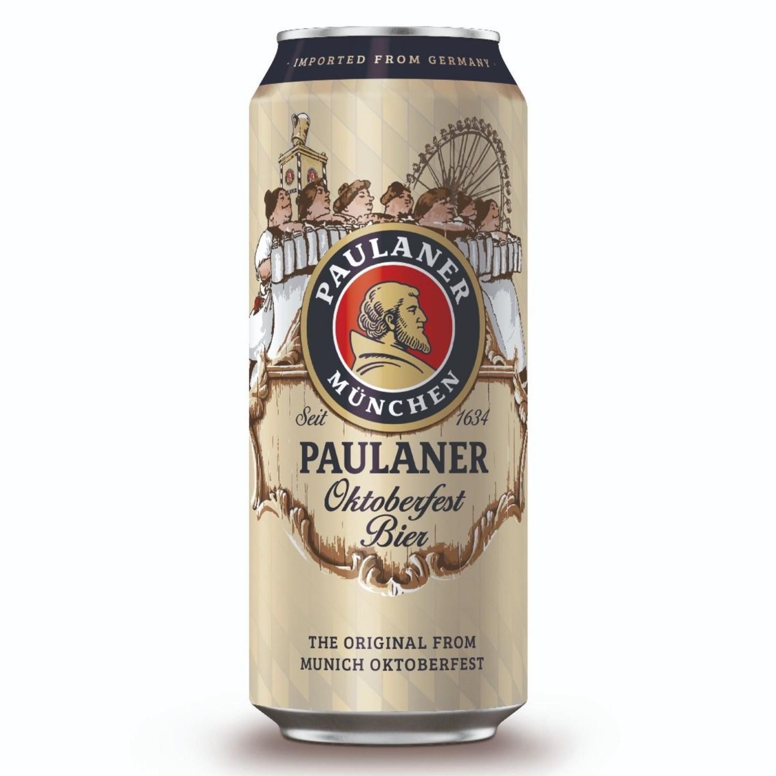 Paulaner Oktoberfest Bier Can 6% 500ml