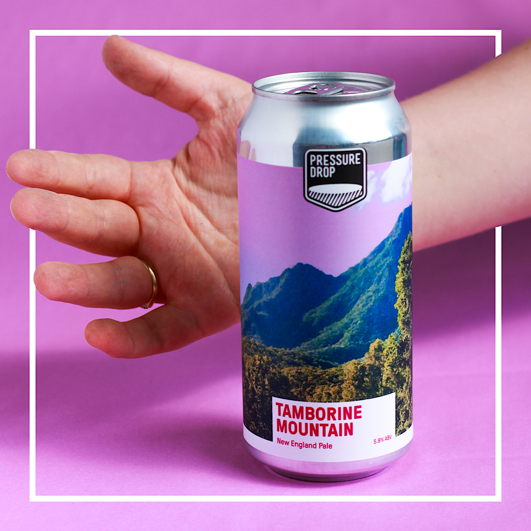 Tamborine Mountain - New England Pale Ale 5.8% 440ml Pressure Drop