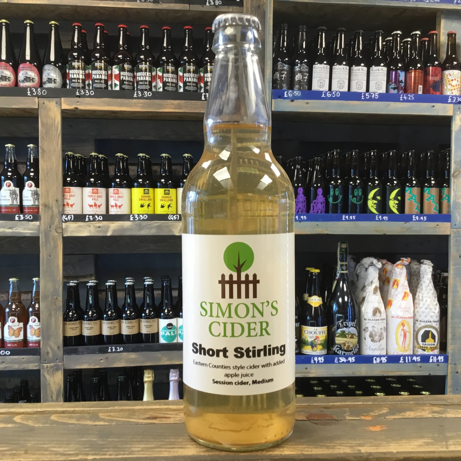 Short Stirling 4.5% 500ml Simon's Cider