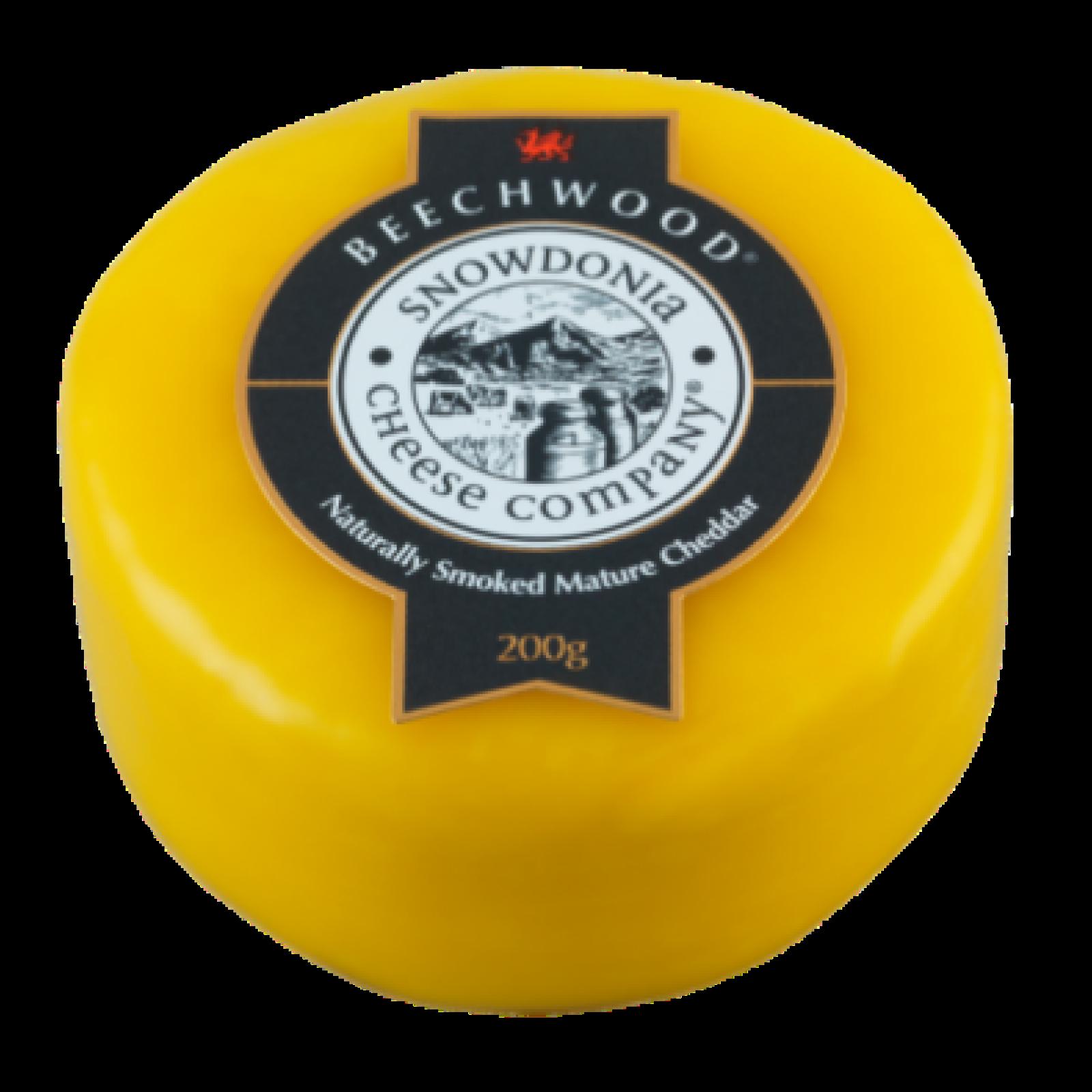 Beechwood 200g - Smoked Mature Cheddar Snowdonia Cheese Co