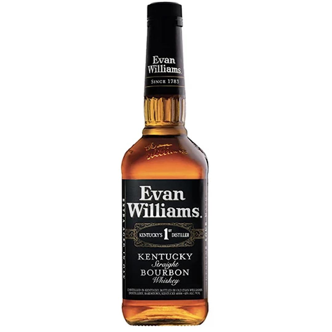 Evan Williams Black Label Burbon 43% 700ml