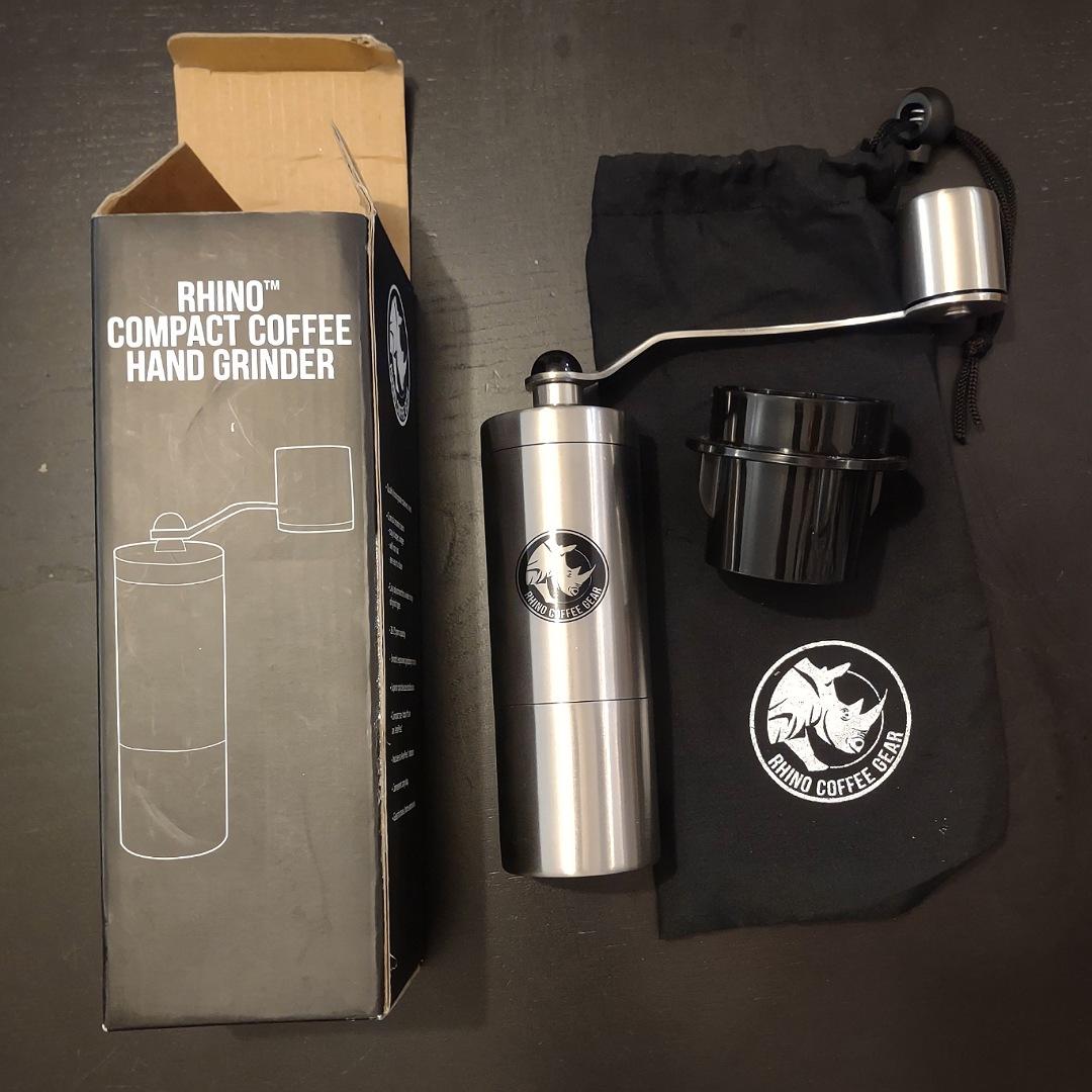 Rhino Compact Coffee Hand Grinder
