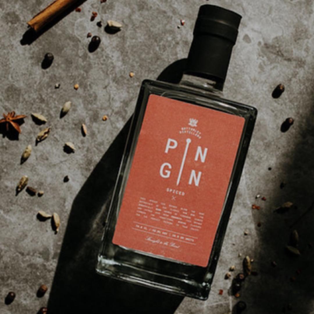 Spiced - Pin Gin 40% 350ml
