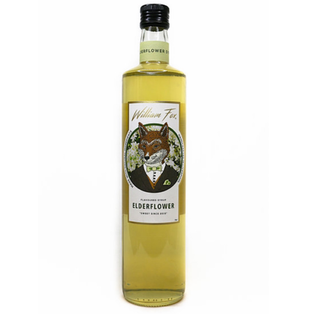 Elderflower Syrup - 750ml William Fox