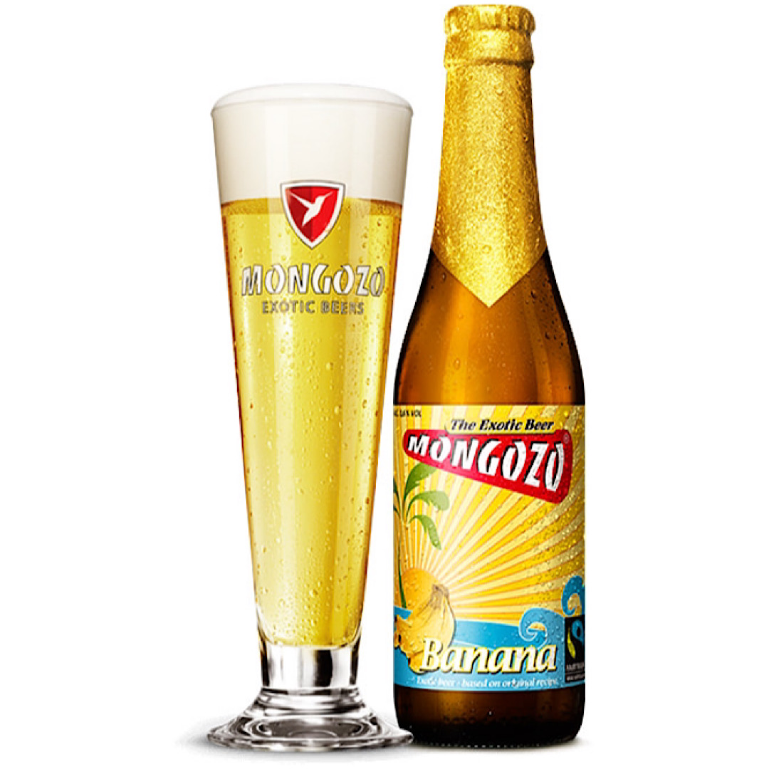 Mongozo Banana - 3.6% 330ml Huyghe Brewery