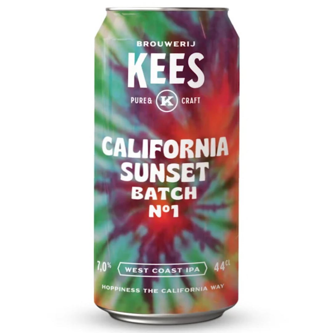 California Sunset N°1 West Coast IPA 7% 440ml Kees Brewery