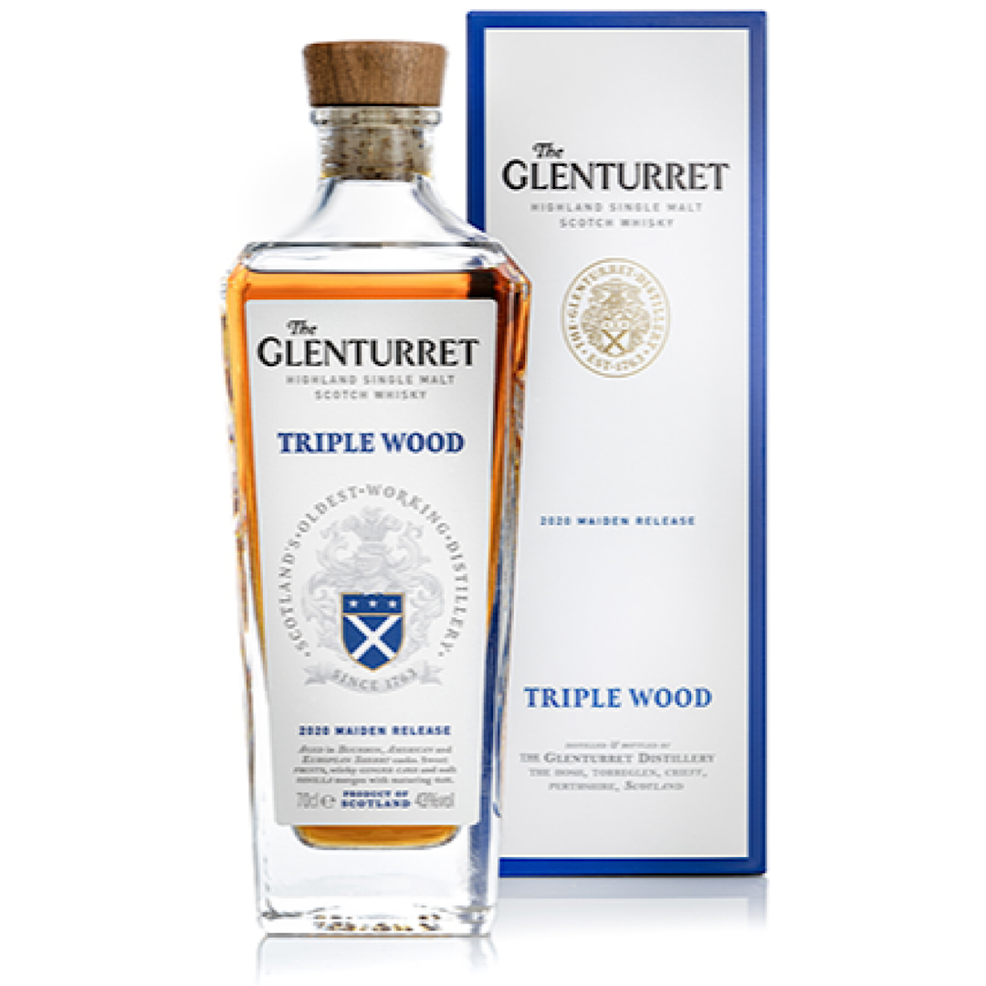 The Glenturret Triple Wood - Highland Single Malt Scotch Whisky 43% 700ml