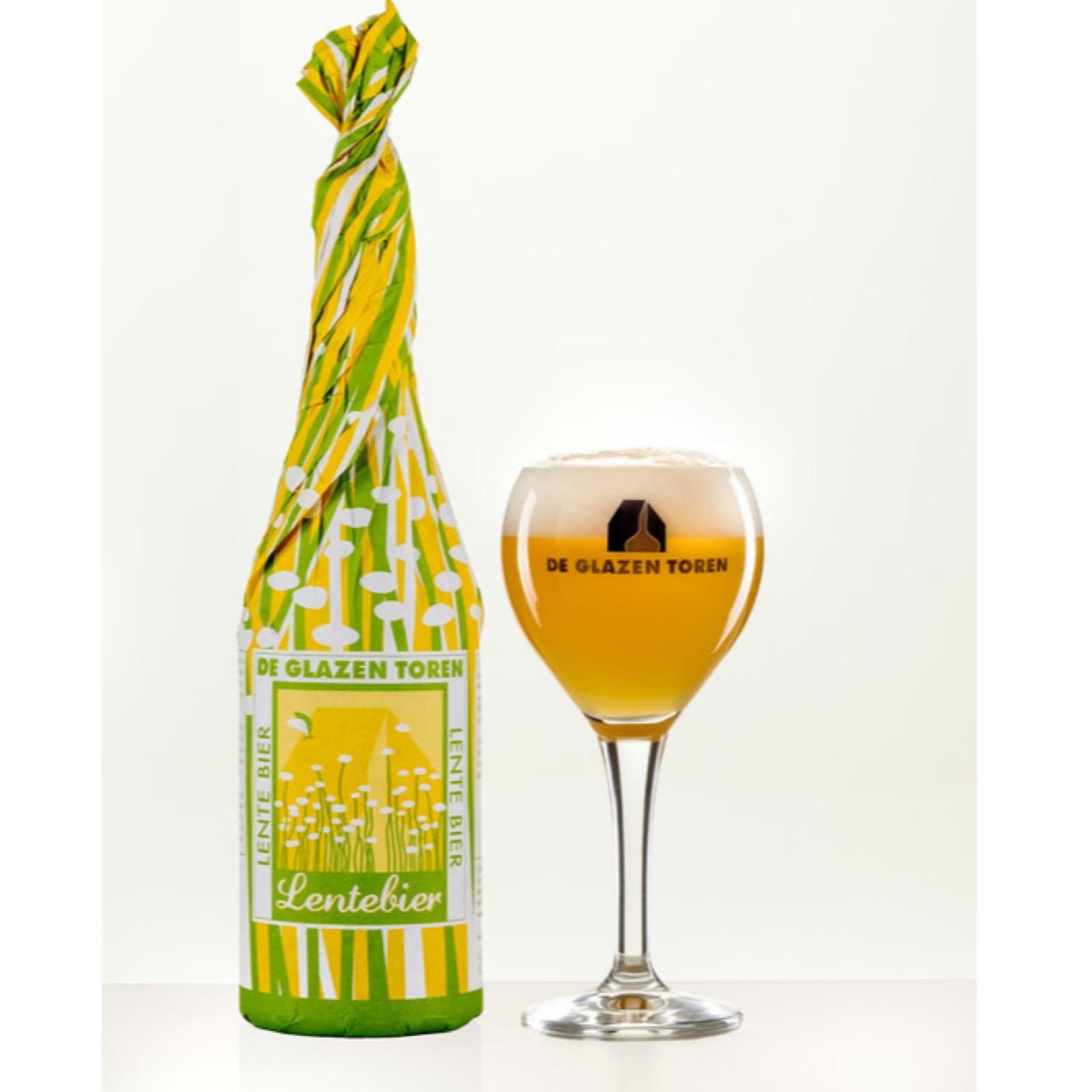 Lentebier - Blond 9% 750ml De Glazen Toren