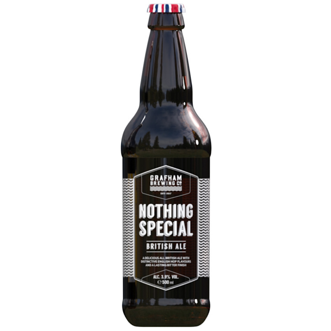 Nothing Special - British Ale 3.9% 500ml Grafham Brewing Co