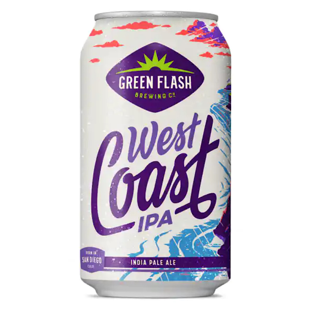 West Coast IPA 7% 355ml - Green Flash Brewing Co - California, United States