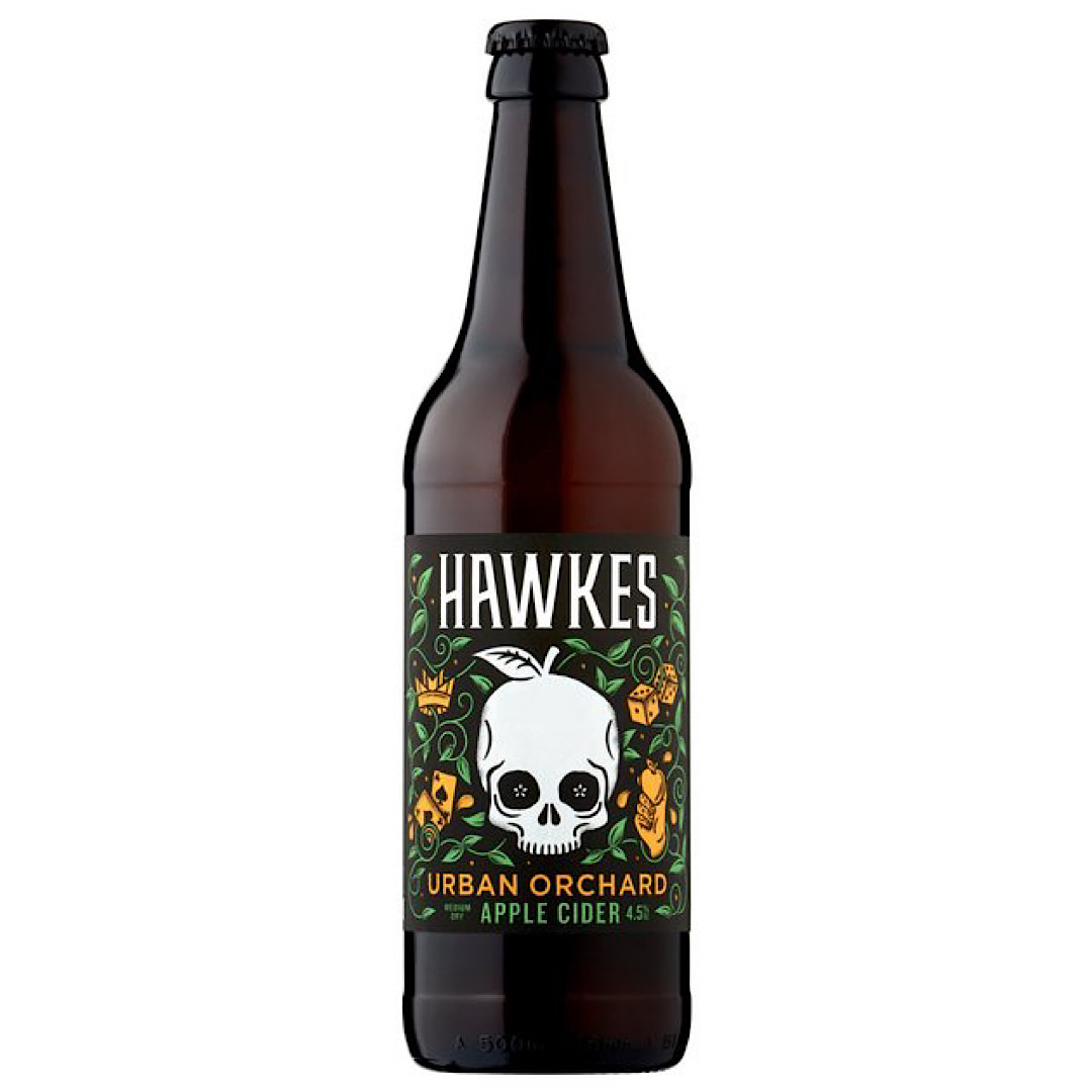 Hawkes Urban Orchard Cider 4.5% 500ml