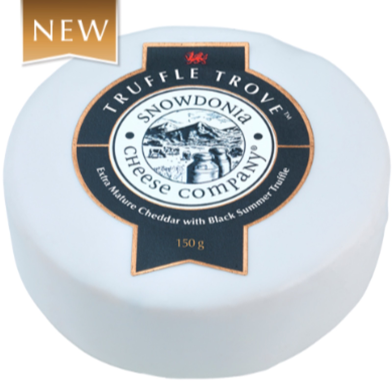 Truffle Trove 150g Extra Mature Cheddar with Black Summer Truffle Snowdonia