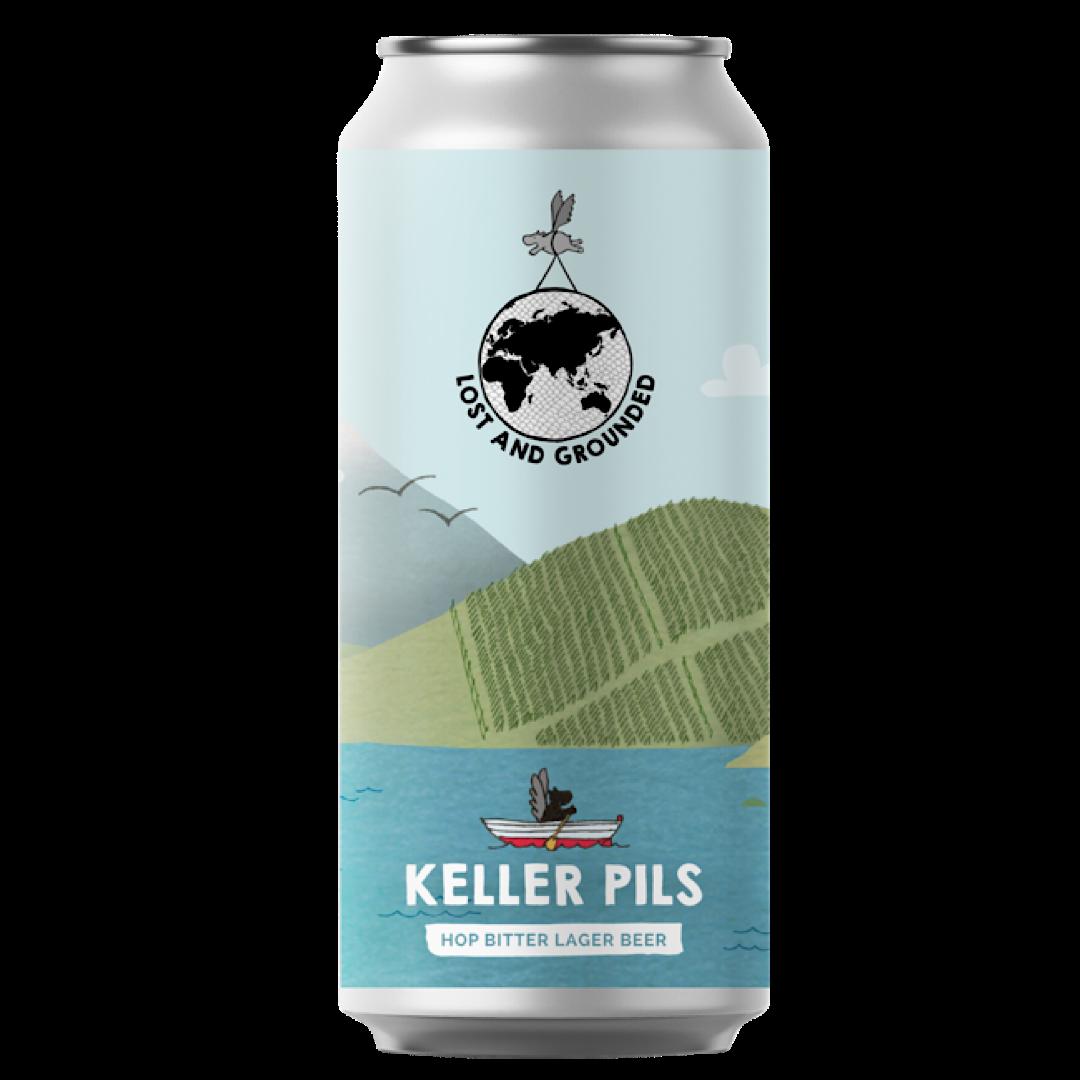 Keller Pils - 4.8% 440ml Lost & Grounded