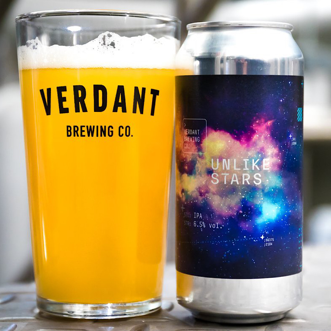 Unlike Stars - IPA 6.5% 440ml Verdant Brewing Co