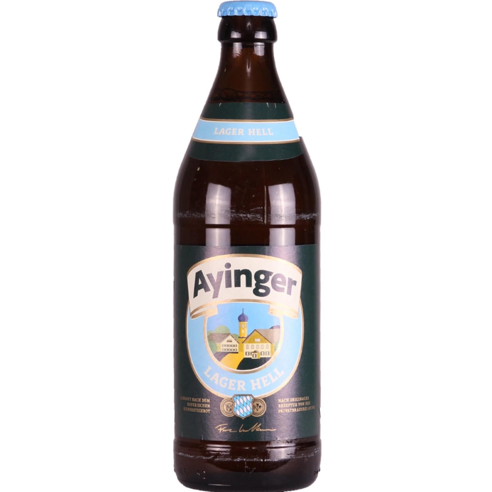 Ayinger Lager Hell 4.9% 500ml