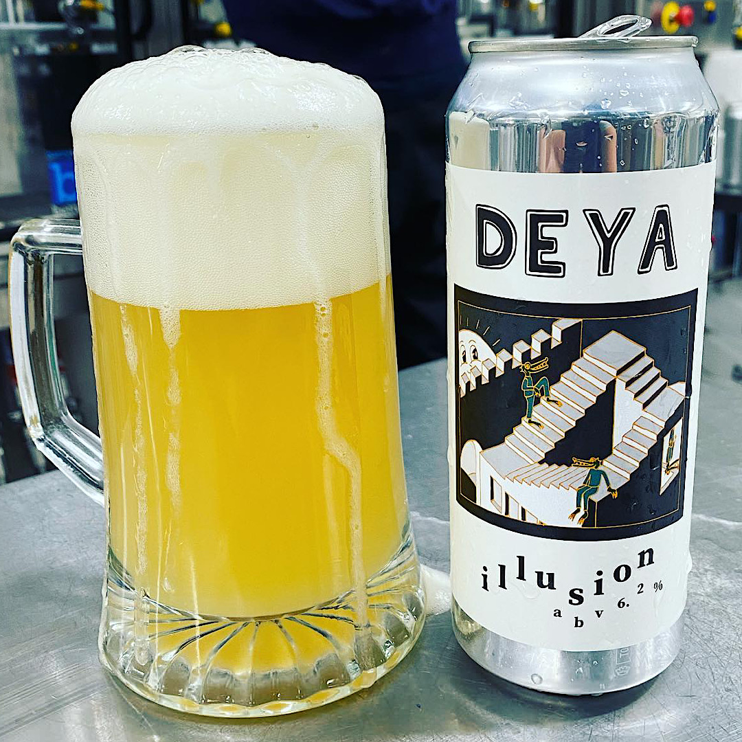 Illusion - IPA 6.2% 500ml Deya Brewing Co
