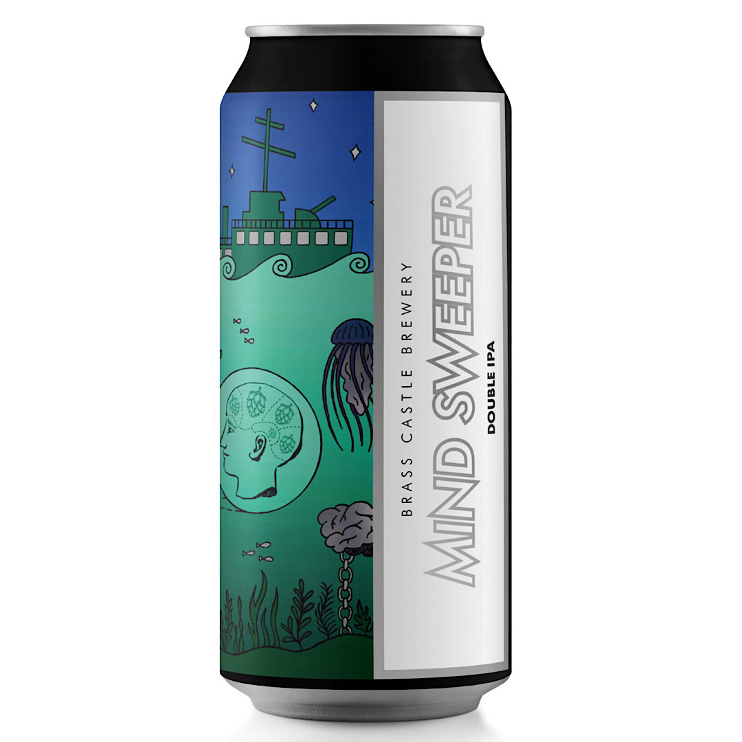 Mind Sweeper - Gluten Free Double IPA 10% 440ml Brass Castle Brewery
