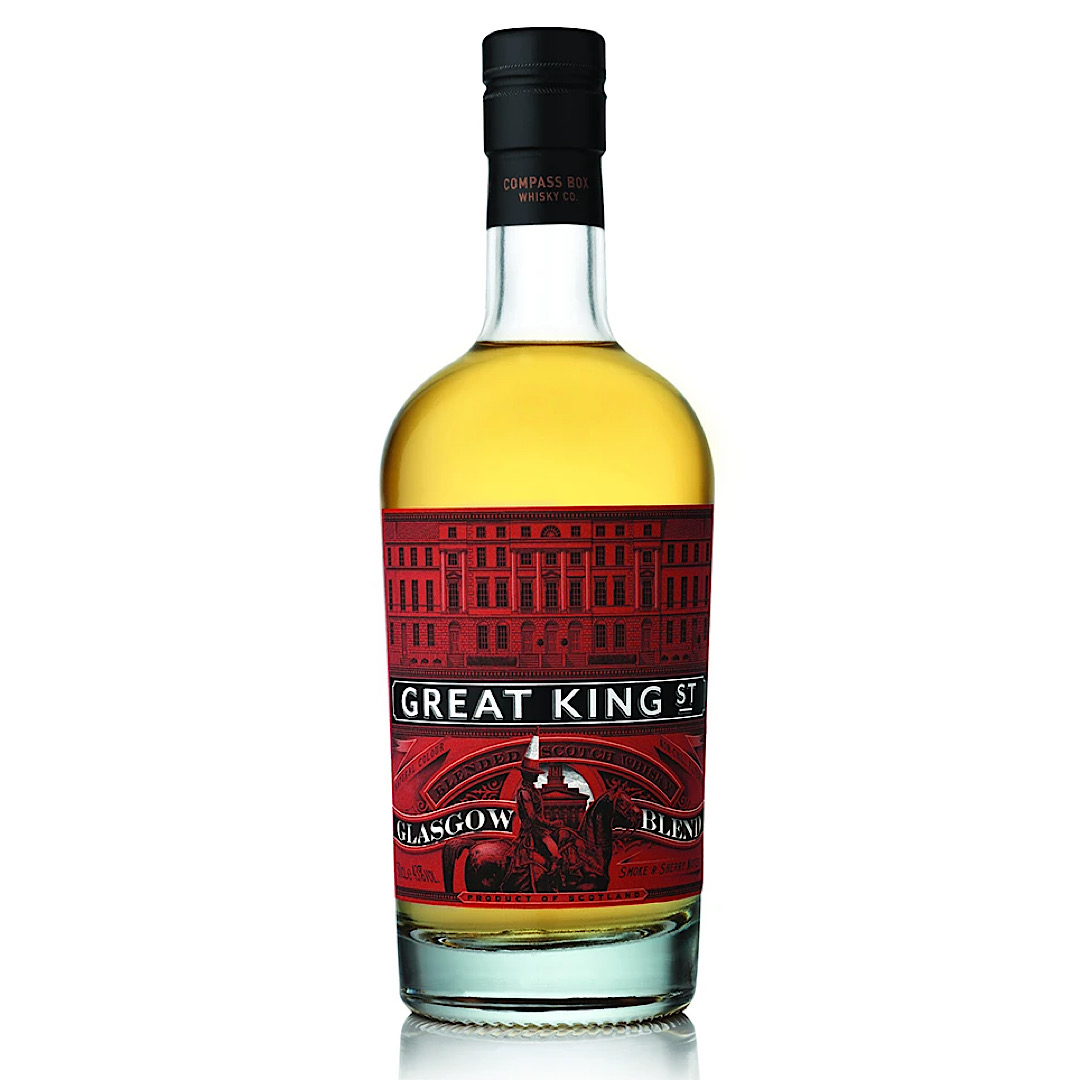 Great King Street's Glasgow Blend 43% 700ml By Compass Box