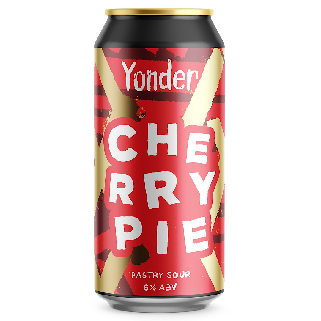 Cherry Pie - Pastry Sour  6% 440ml Yonder Brewing