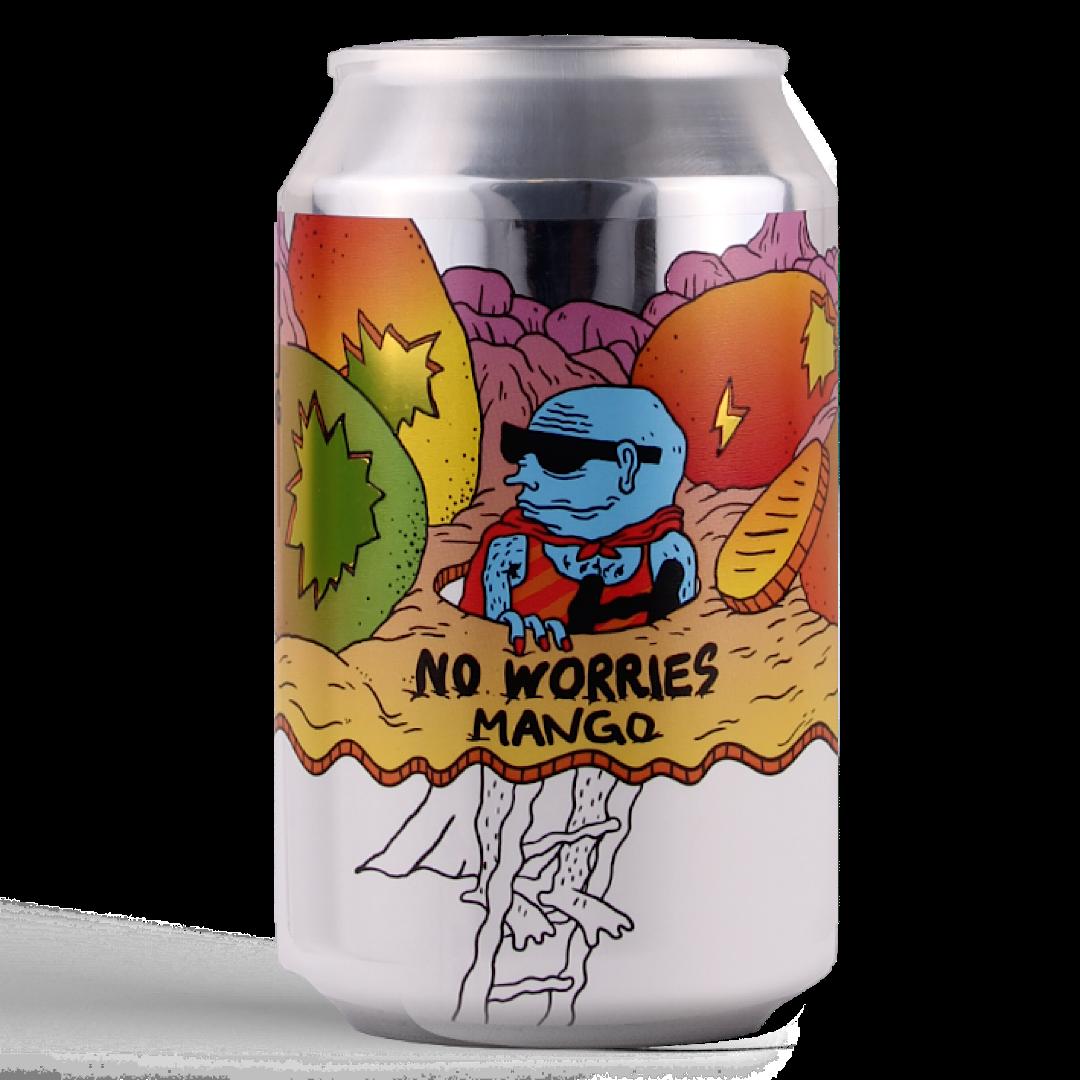 No Worries Mango 0.5% 330ml Lervig