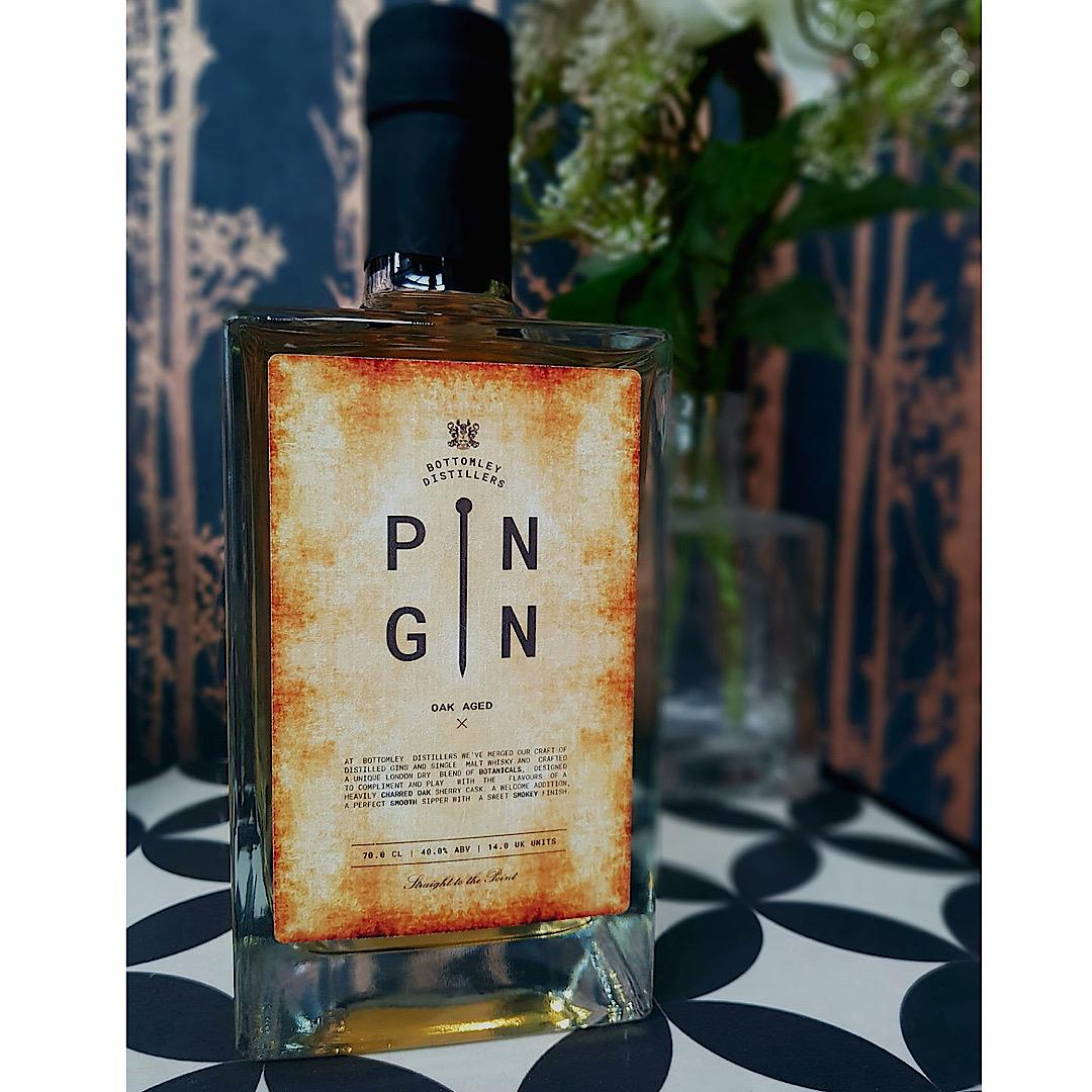 Oak Aged - Pin Gin 40% 700ml