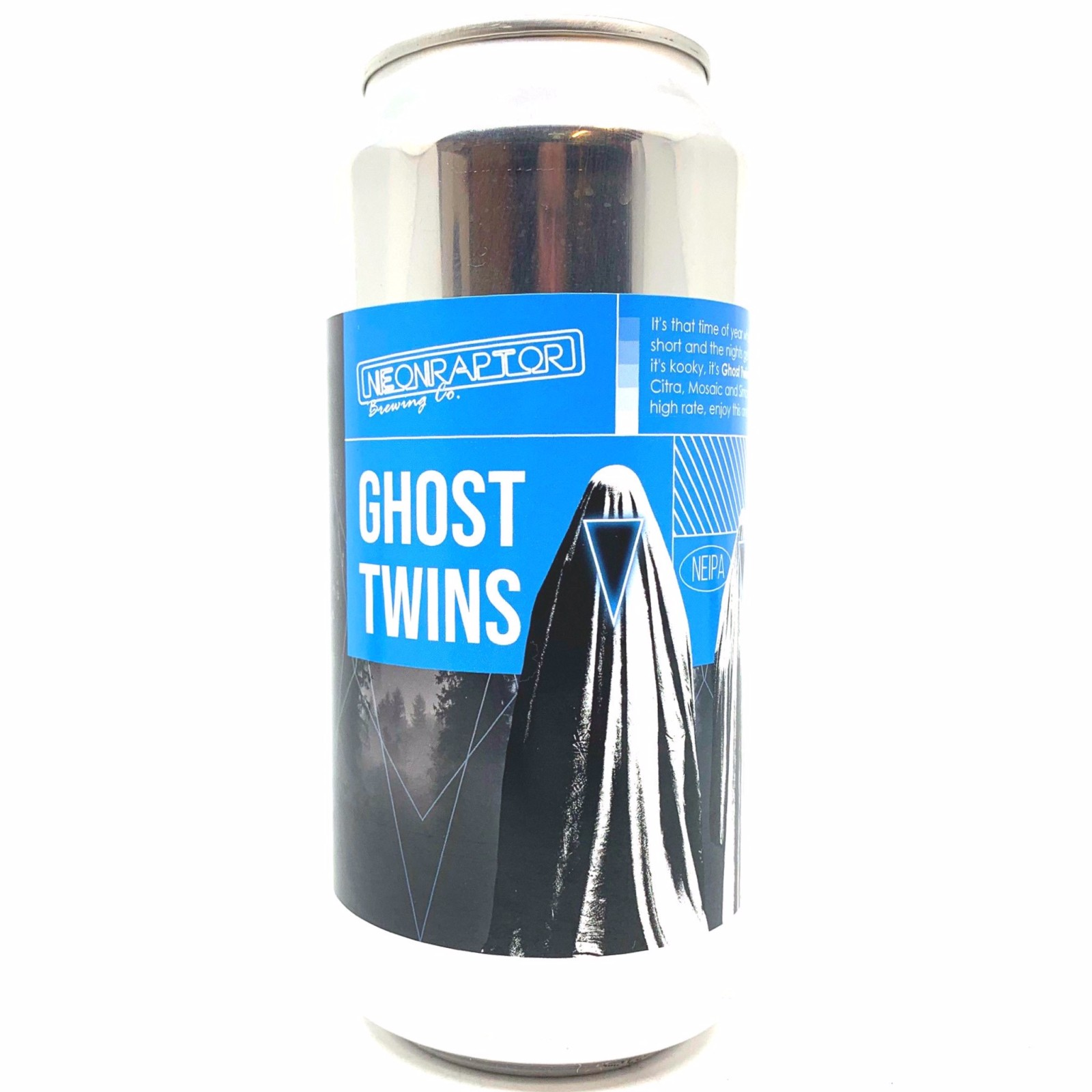 Ghost Twin - NEIPA 6.8% 440ml Neon Raptor Brewing