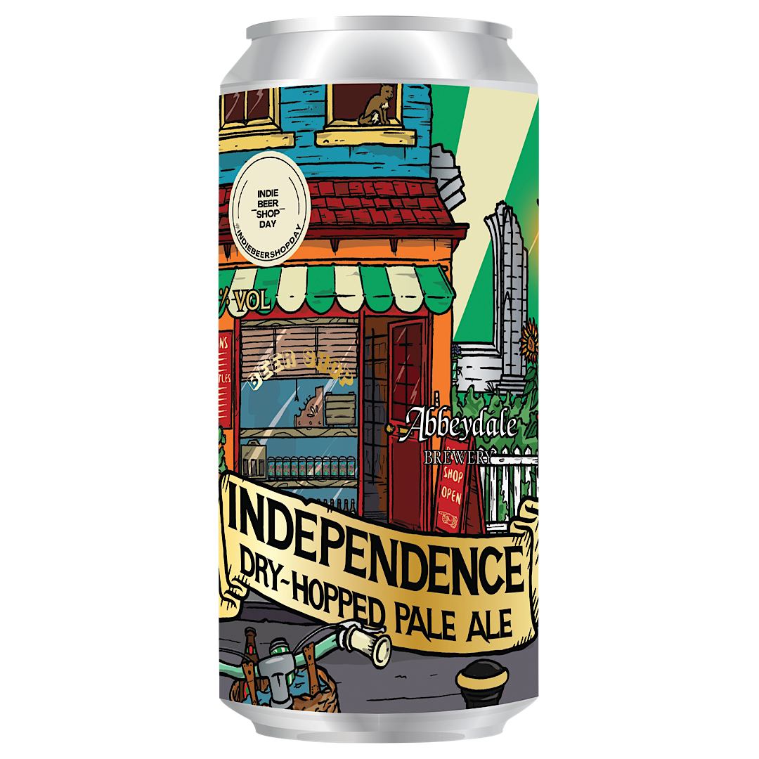 Independence Dry-Hoped Pale Ale 4% 440ml Abbeydale Brewery