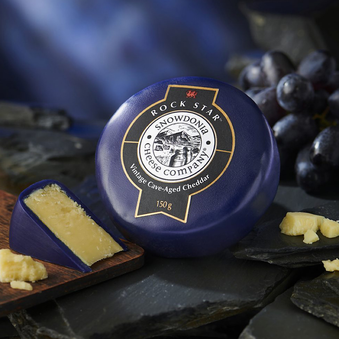 Rock Star - Vintage Cave-Aged Cheddar Snowdonia Cheese Co