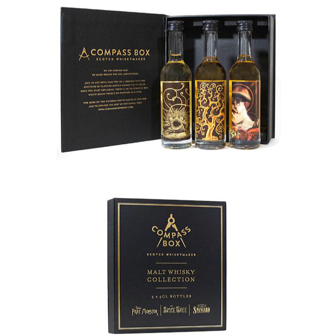 Compass Box Malt Whisky Collection - 3x50ml Gift Pack