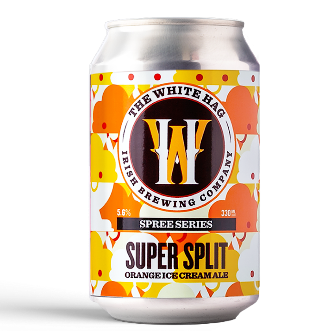 Super Split - Orange Ice Cream Ale 5.6% 330ml The White Hag