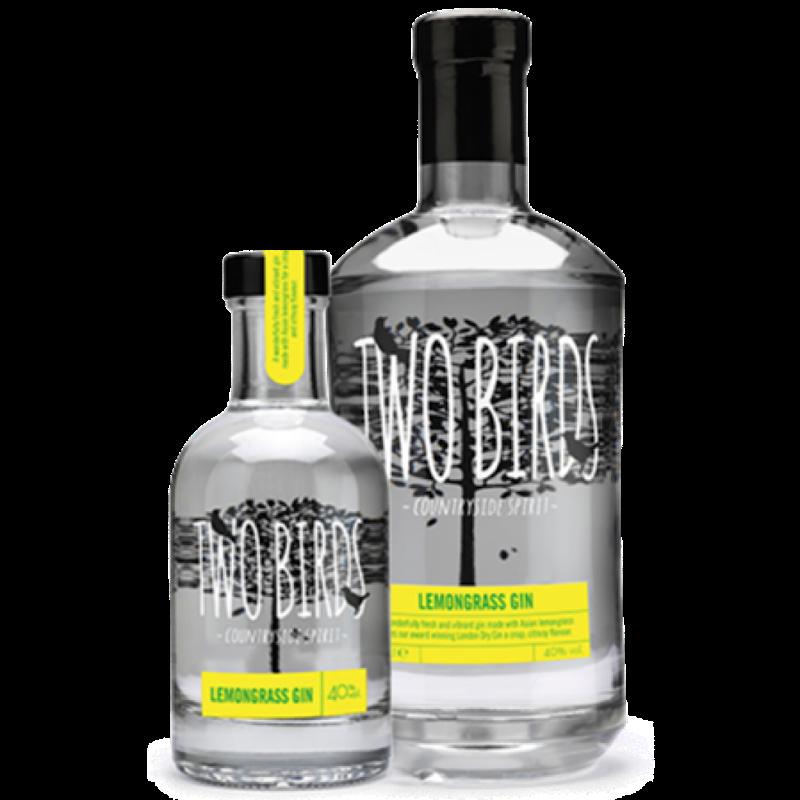 Two Birds Lemongrass Gin 40%