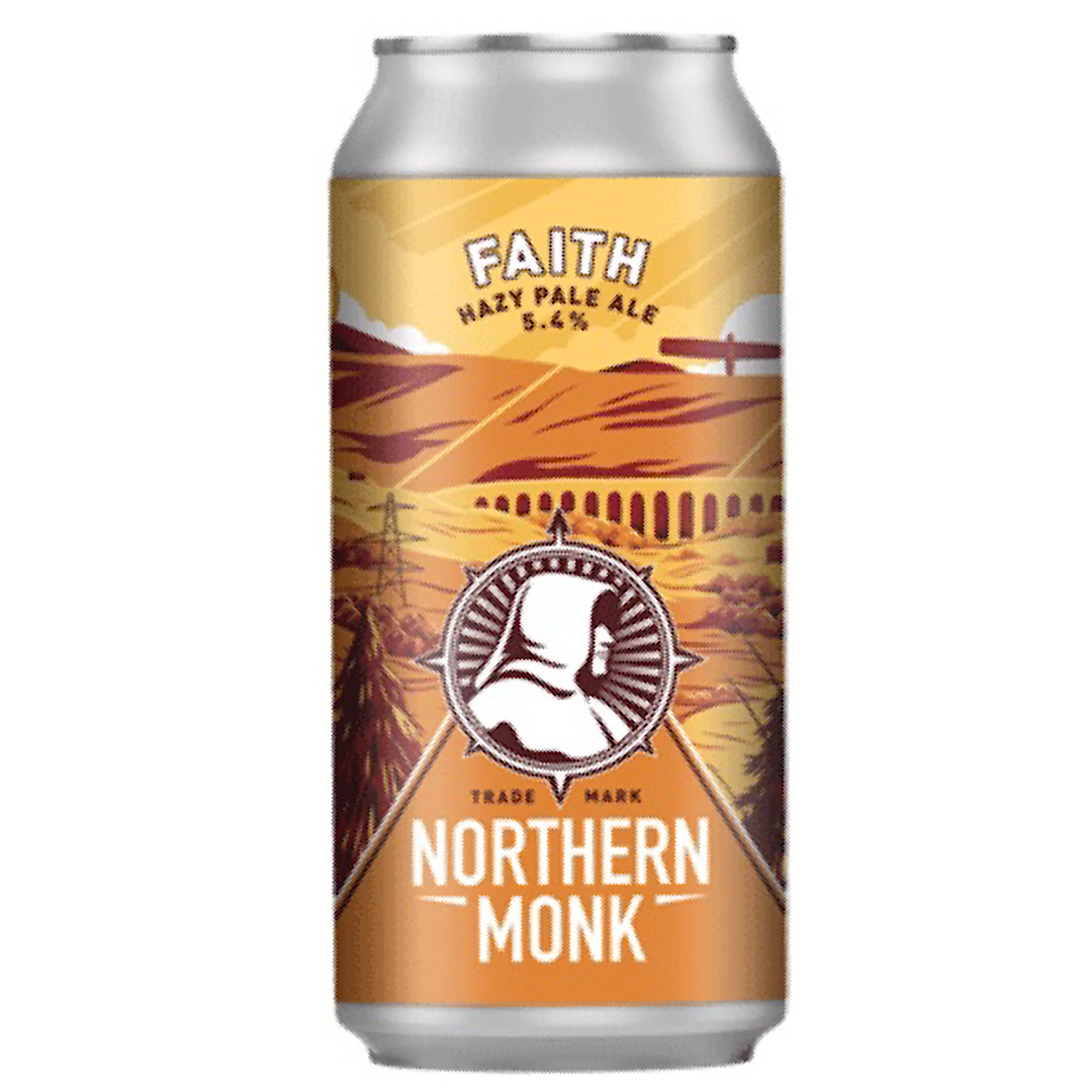Faith - Hazy Pale Ale 5.4% 440ml Northern Monk Brewery