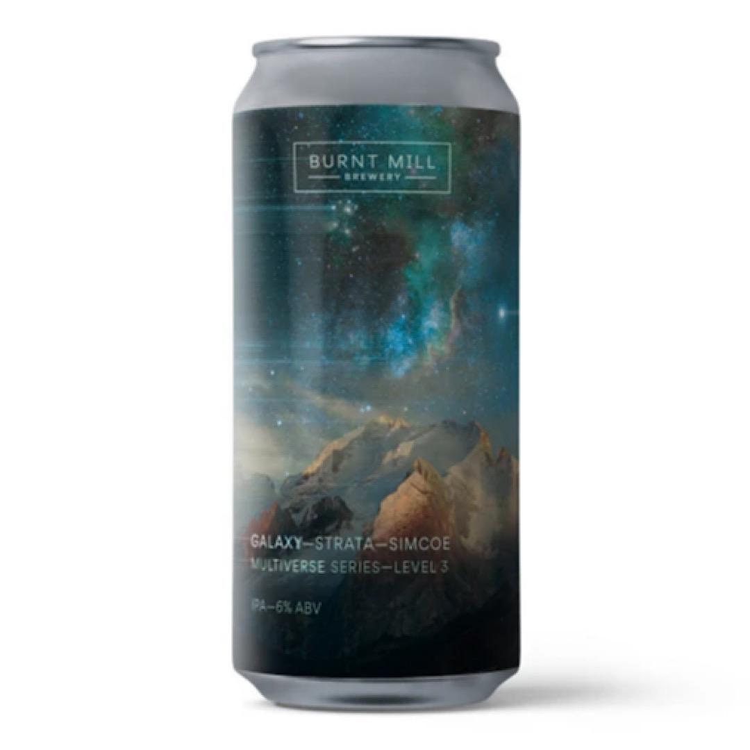 Multiverse Series - Level 3  NE IPA 6% 440ml Galaxy-Strata-Simcoe Burnt Mill Brewery
