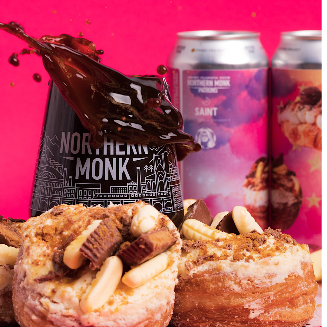 32.01 SAINT CROISSANTS // CULINARY CONCEPTS 2.0 - 14% 440ml EMPEROR'S BREWERY // IMPERIAL BANANA CRONUT STOUT Northern Monk