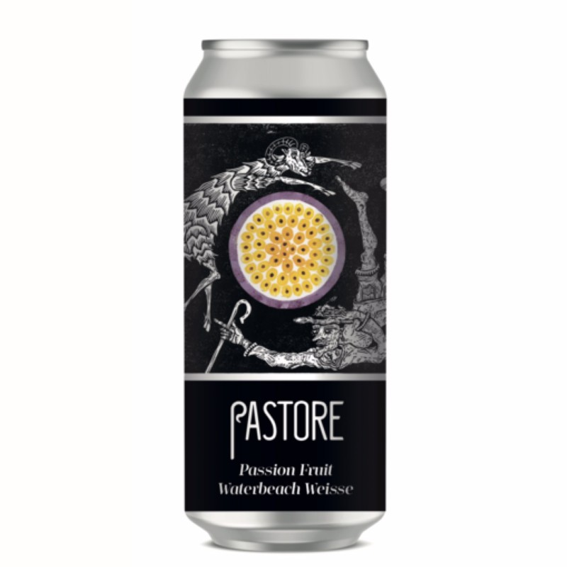 Passion Fruit Waterbeach Weisse 3.9% 440ml Pastore Brewing & Blending