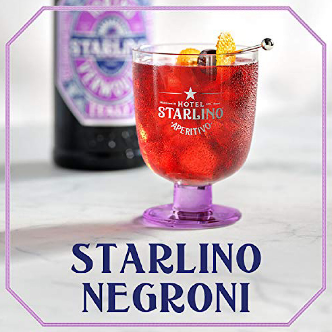 Hotel Starlino 3 x 10cl Aperitivo Gift Pack | 17% Aperitifs from Torino, Italy