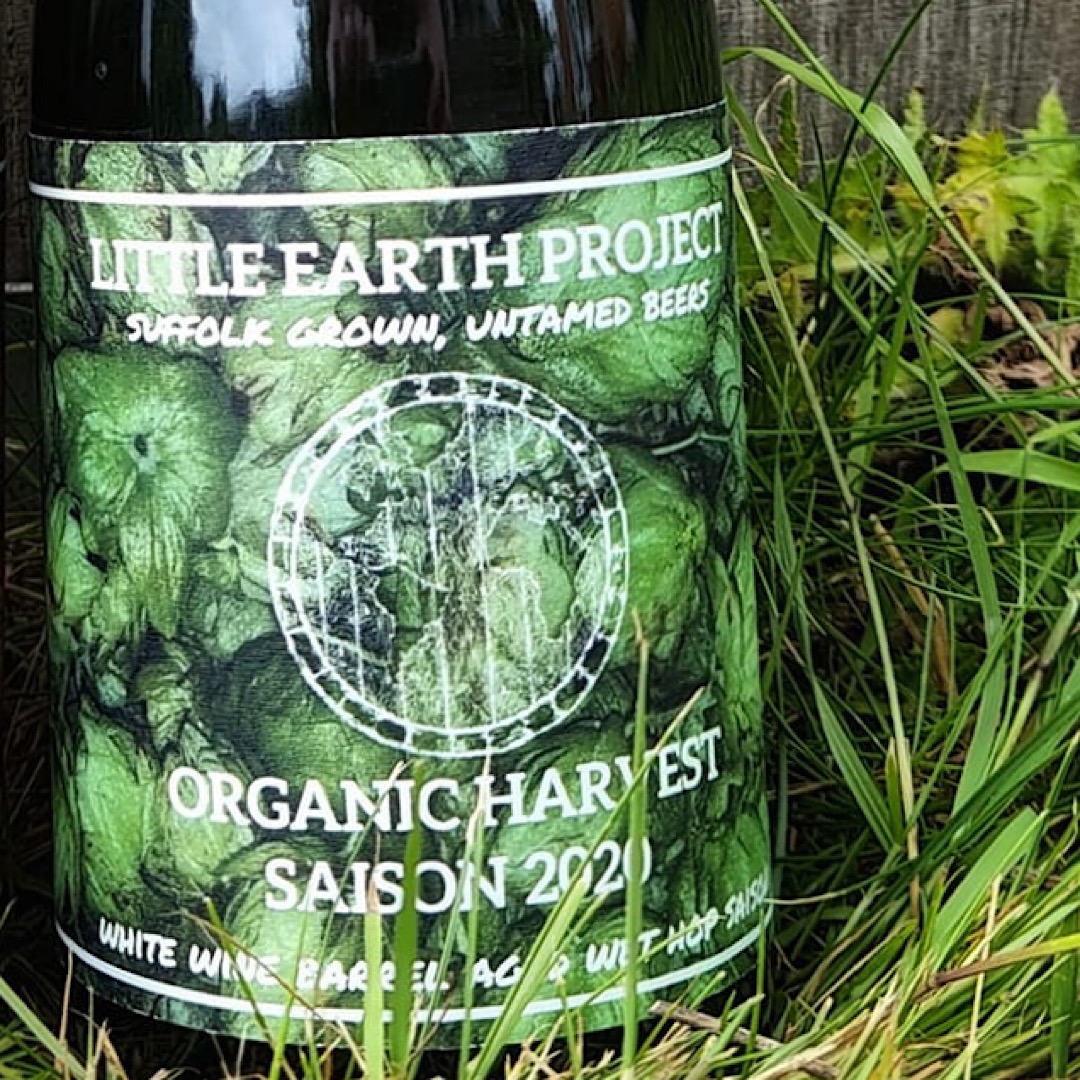 Organic Harvest Saison 2020 - White Wine BA 7.2% 375ml Little Earth Project