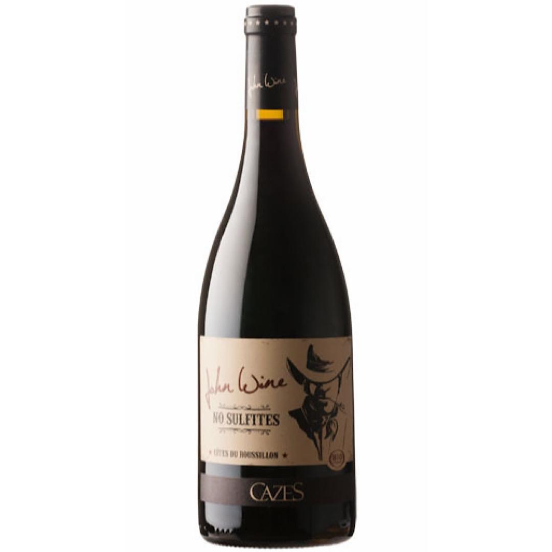2019 Côtes du Roussillon Rouge John Wine Natural Wine, Organic Vegan 13.5% 750ml Domaine Cazes