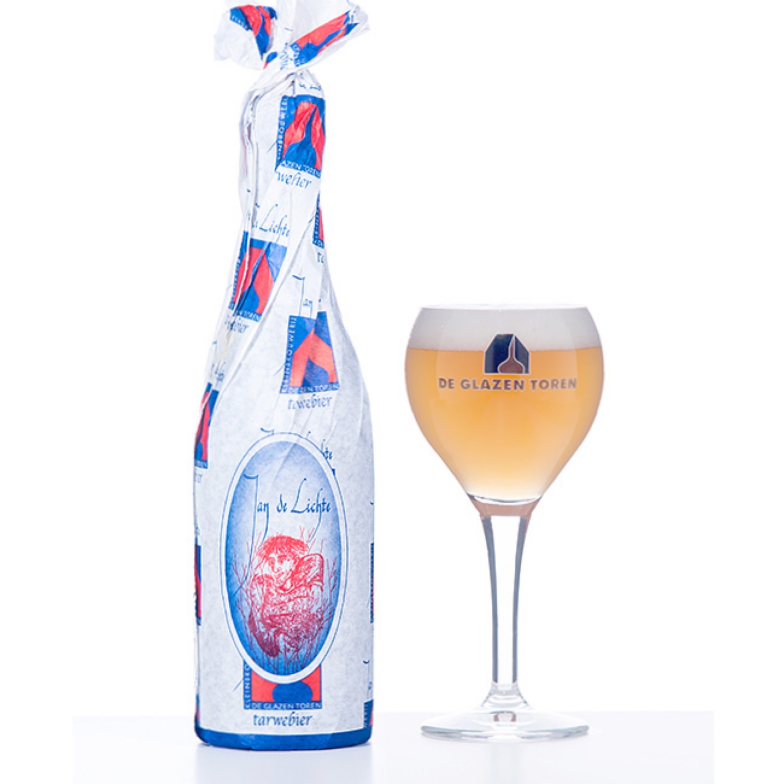 Jan De Lichte - Wheat Beer 7% 750ml De Glazen Toren