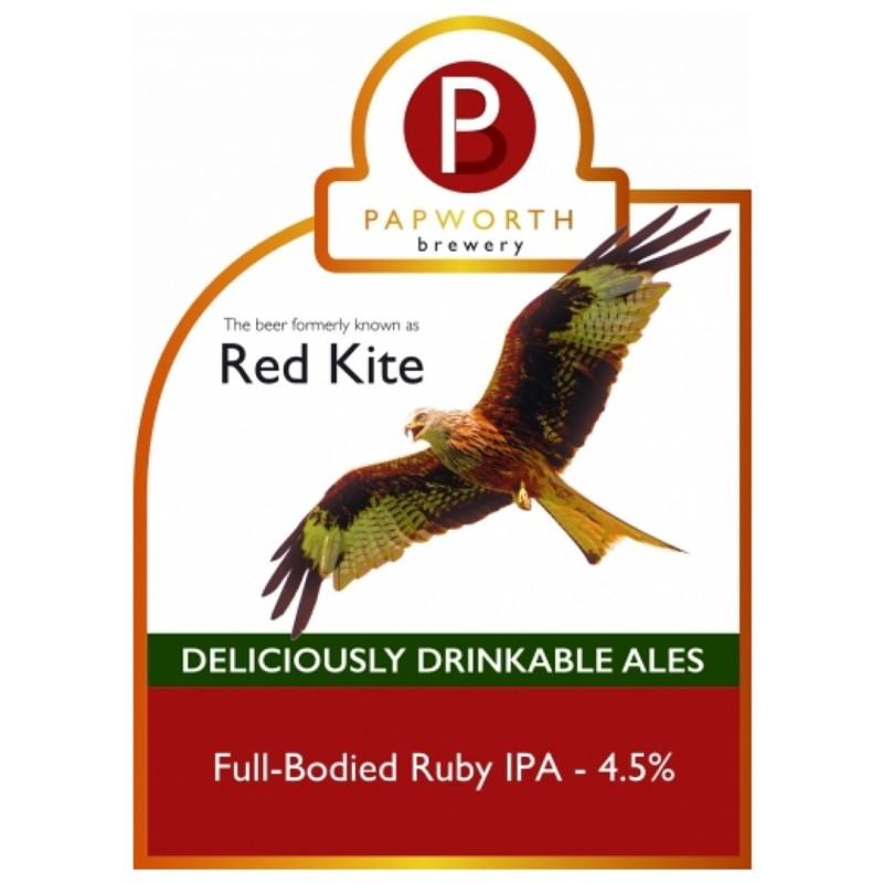 Red Kite - Ruby IPA 4.5% 500ml Papworth Brewery