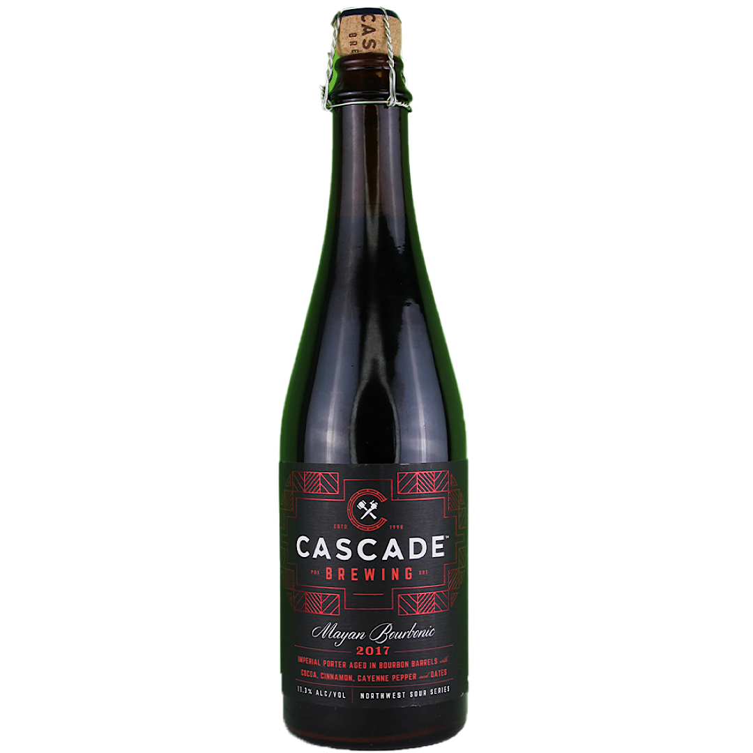Mayan Bourbonic Plague 2017 - 11.3% 500ml Cascade Brewing Portland, Oregon
