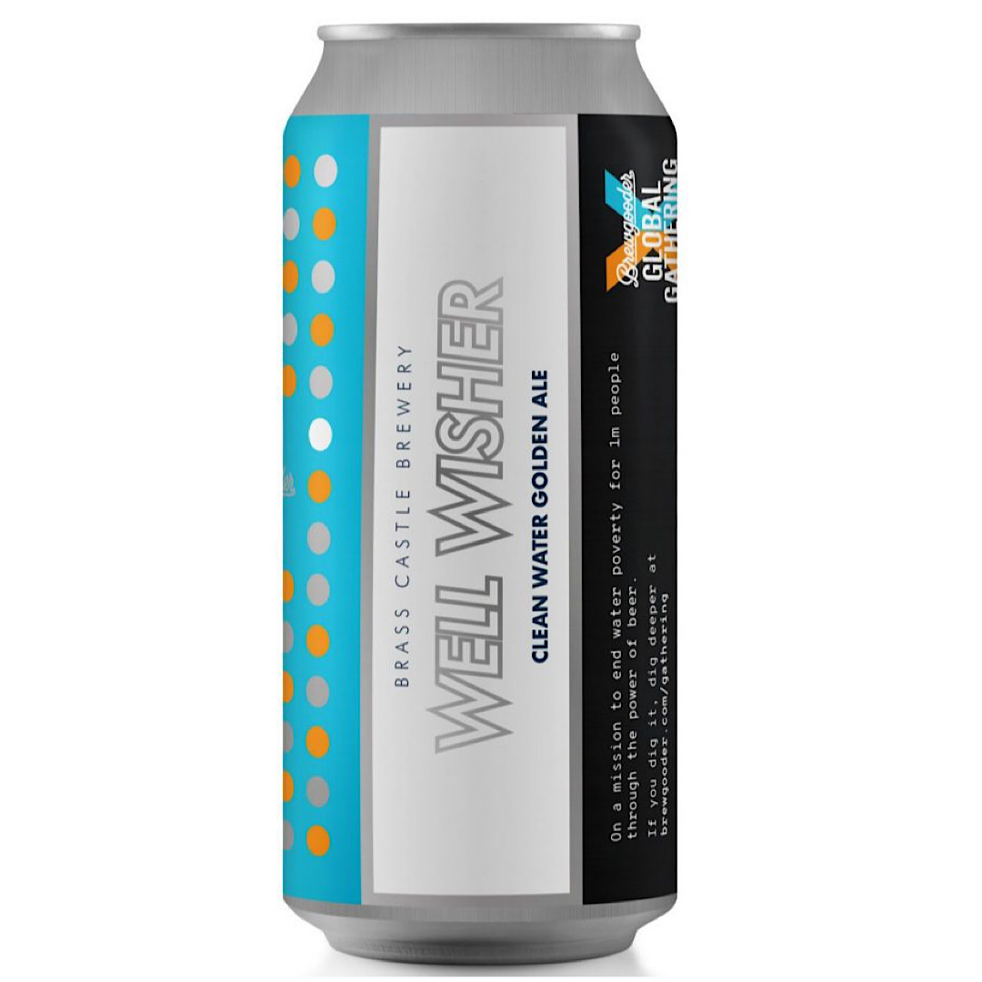 Well Wisher - Gluten Free Golden Ale 4.5% 440ml Brass Castle Brewery
