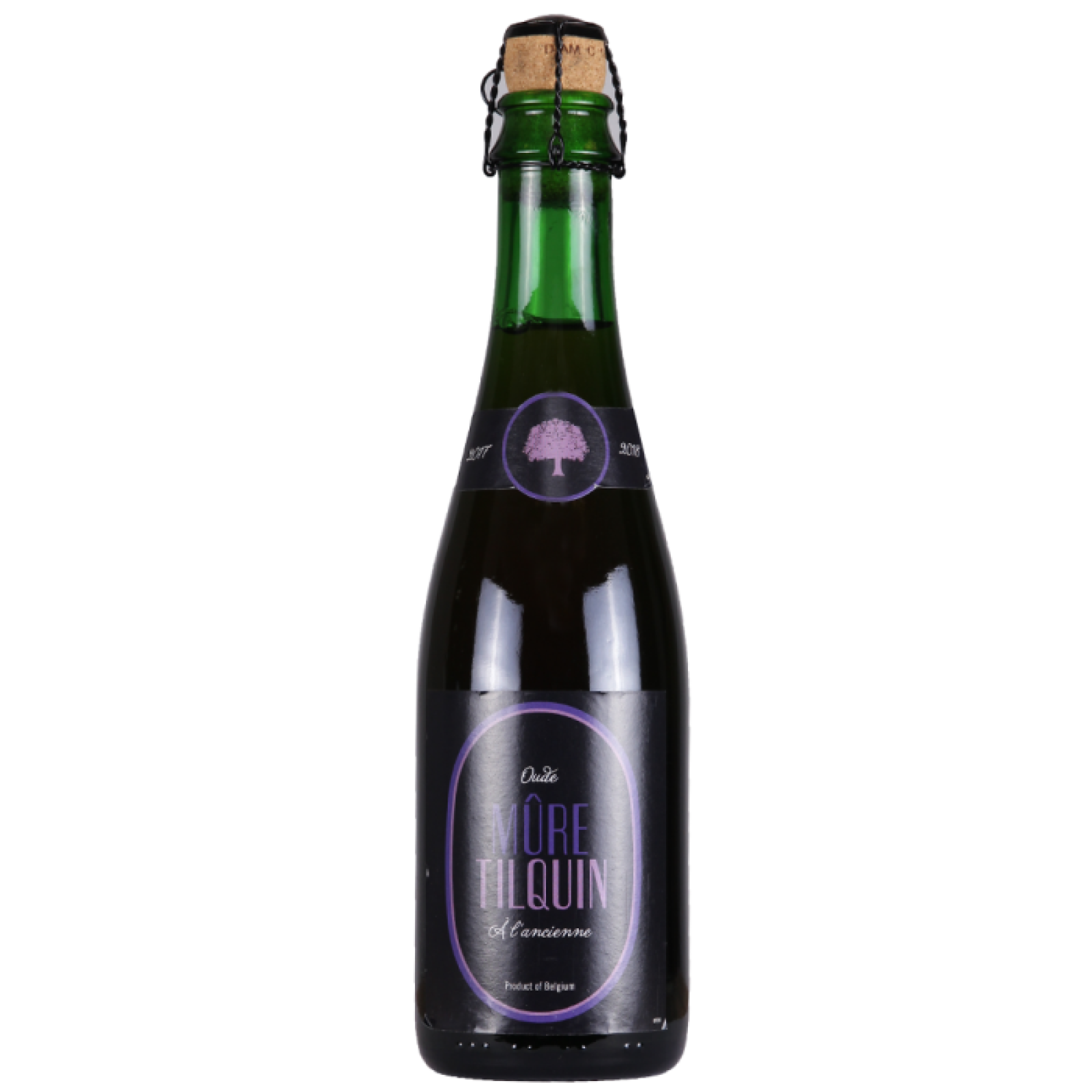 Mure A L'Ancienne - Lambic with Blackberries 6.4% 375ml Tilquin Brewing
