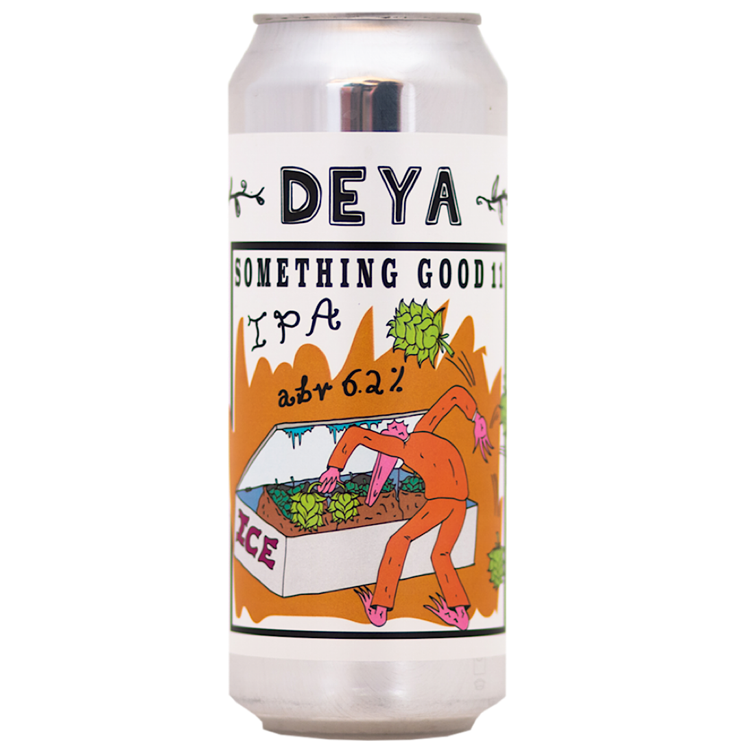 Something Good 11 - IPA 6.2% 500ml Deya Brewing Co